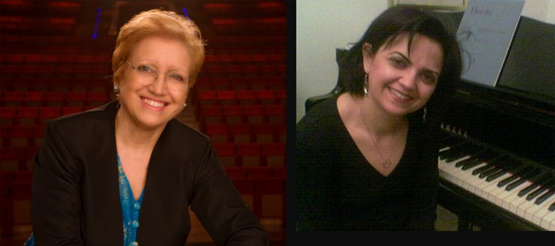 Daniella Troiani  - Antonella Calvelli: Piano and Flute Seminars and Concert