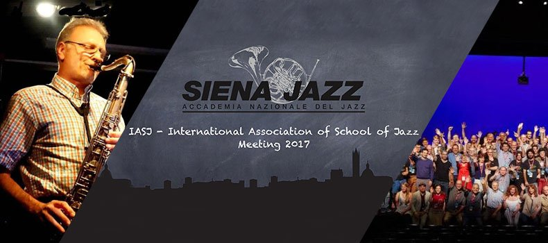 Dimos Dimitriadis is the secretary of the International Association of Jazz Schools (IASJ)