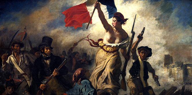 Ντελακρουά Γαλλική Επανάσταση